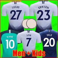 55ab4d6d0 Tottenham hotspur spurs soccer jersey football shirt Camiseta de fútbol  KANE 2018 2019 LAMELA ERIKSEN DELE SON DIER espolones jerseys 19 18 chandal  de ...
