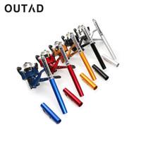Wholesale pen rod set resale online - OUTAD Super Lightweight Portable Pen Rod Fishing Set Mini Fishing Rod Pole Reel Pocket Reel Accessories