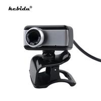 mini hd cámara de micrófono al por mayor-Kebidu Original Mini Digital USB 50MP Cámara web con estilo Rotar cámara HD Web Cam con micrófono Micrófono Clip al por mayor