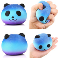 pandas baby groihandel-Kawaii Jumbo Panda Squishy populäre weiche Baby-Kind-Plüsch-Puppe Collectibles Cartoon Super-Slow-Rising-Geschenk
