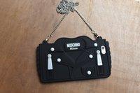 ручные стропы оптовых-3D мультфильм Ручная сумка дизайн с талрепом Мягкий силиконовый чехол для телефона iPhone xs max xr 6 6 S 7 8 Plus X крышка