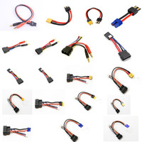 Wholesale FUSE MODEL RC NIMH Lipo Graphene HV Lipo Battery cable power leads trx flat connector for all RC Charger