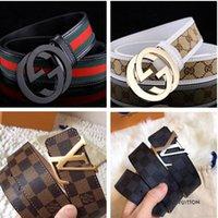 g ceintures hommes achat en gros de-2019 ceinture de designer de luxe pour femmes hommes G grande boucle ceintures ceinture de chasteté masculine top fashion ceinture en cuir des femmes en gros