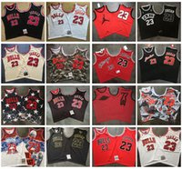 chicago bulls basketball al por mayor-Mens Mitchell Ness Chicago
