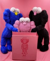 Wholesale halloween puppets for sale - Group buy Celebrity kaws doll Aimy Sesame Street doll birthday holiday gift doll lie small lime orignalafake plush collection