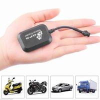dispositivo antirrobo de alarma de coche al por mayor-Mini GPS vehículo Tracker antirrobo dispositivo de alarma de seguimiento de la motocicleta del coche en tiempo real GSM Localizador de Monitor de sistema Accesorios para automóviles