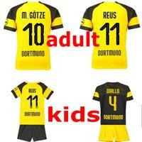 5f77d004d Crianças Camisa de Futebol Crianças Roupas de Grife 18 19 meninos da  juventude roupas de Futebol Jersey PULÍSICA PHILIPP M.GOTZE camisas de bebê  adulto ...