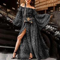 robe de soirée rouge achat en gros de-Femmes Vêtements Sexy Leopard Collier Designer Robe Robes Pour Femmes Night Club Robes Designer De Luxe Robes Femmes