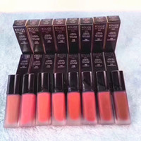 lápices labiales líquidos azules al por mayor-8 colores ROUGE ALLURE INK Lápiz labial líquido mate Rouge a levre Kit de maquillaje de brillo de labios