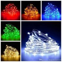 ingrosso illuminazione delle bottiglie di vetro-Wine Glass impermeabile LED filo di rame luci della stringa 1M 2M 3M lampada a forma di sughero del tappo della bottiglia luce di natale della festa nuziale della BC BH0976-3