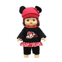 bebek güzel bebek toptan satış-25cm Mellchan Baby Doll Giyim Doll için güzel Güzel Seti
