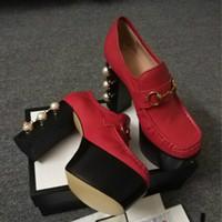modelo de tacón alto de moda al por mayor-(Con la caja) nuevos modelos calientes de la venta de los tacones altos modelos de la explosión de los zapatos de las mujeres estilo clásico de gama alta de encargo 35-41 tendencia de la moda