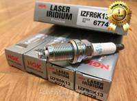 ngk zündkerzen großhandel-4 stücke ECHTE Auto Kerze NGK 6774 IZFR6K13 Iridium Platin Zündkerze Original für HONDA IZFR6K13 6774