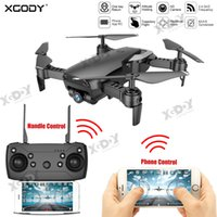 Wholesale professional helicopter for sale - Group buy XGODY RC Quadcopter Dual Camera P HD Selfie G WiFi FPV Camera Drone Professional Outdoor Remote Control Mini Helicopter T191016