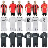 51efb6900 MLS FC Atlanta United 10 Miguel Almiron Jersey Set 2018 2019 Soccer 7 Josef  Martinez 4 Greg Garza Football Shirt Kits Uniform