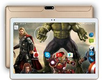 Wholesale free shipping sim tablets resale online - DHL Inch Tablet pc Android Octa Core GB RAM GB ROM dual sim WiFi FM IPS Phone Call G GPS Tablets gifts