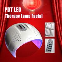 liderliğindeki yüz hafif terapi makinesi maskesi toptan satış-Sıcak Satış Katlanabilir 4 Renk LED Yüz Tedavi Foton Terapi Maskesi PDT Cilt Gençleştirme Yüz Güzellik Makinesi LED Işık Terapi