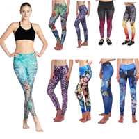 Wholesale patterned summer leggings for sale - Group buy Woman D Printed Cartoon Leggings Princess Pattern Fashion Skinny Elastic Fitness Sexy Pants Sports Yoga Pantas Maternity Bottoms LJJA2671
