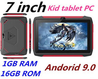 Wholesale hd tablets android resale online - Newest kid Tablet PC Q98 Quad Core Inch HD screen Android AllWinner A50 real GB RAM GB Q8 with Bluetooth wifi