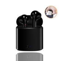 evrensel kulak içi kulaklıklar toptan satış-I7 TWS Kablosuz Bluetooth Kulaklık Ile Şarj Kabin Değil Airpods iPhone Için Evrensel Kulak Kulakiçi / Android Smartphone