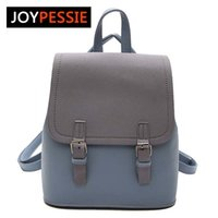 Wholesale cute small backpacks for women resale online - Joypessie Tassel Women Small Backpack Pu Leather Backpack Cute School Bags For Girls Fashion Shoulder Bag Female BackpackMX190824