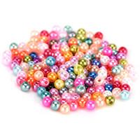 ingrosso perline misti 4mm vetro-500pcs perle di vetro per monili che fanno mestiere DIY circa 4mm colori forma rotonda all'ingrosso di imitazione all'ingrosso