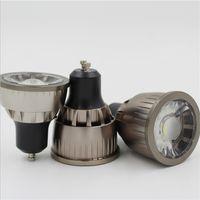 Wholesale mr16 7w led bulbs for sale - Group buy Super Bright Dimmable GU10 E27 MR16 COB W W W LED Bulb Lamp AC110V V spotlight Warm White Cold White led Bulb Lighting