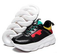 145323c043948 2019 réaction de chaîne hommes femmes marque de luxe Designer Designer  chaussures meilleure qualité mode formateurs baskets occasionnels chaussures  taille ...