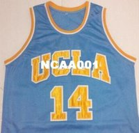 Wholesale ucla jersey resale online - Vintage Best Quality Mens Zach LaVine Westbrook UCLA Bruins College jersey blue white or custom any name or number jersey