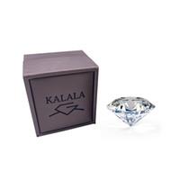 ingrosso tagli diamanti brillanti-Loose Moissanite 0,5 carati 5,0 millimetri F colore rotondo brillante taglio diamante gioielli Moissanite anello braccialetto materiale fai da te