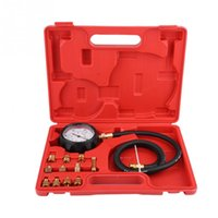 Wholesale engines transmissions for sale - Group buy TU A Automatic Gearbox Transmission Engine Oil Feul Pressure Tester Gauge Kit Psi Car Accessories Car Diagnostic Tools