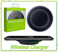Wholesale mobile phones receiver for sale - Group buy Universal Qi Wireless Charger Newest Charging Adapter Receiver For Samsung Note Galaxy S6 S7 Edge S8 mobile phone with package MQ20