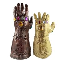 Wholesale bully toys resale online - Marvel Avenger Alliance Unlimited War Bully Glove Cos Halloween Latex Super Unlimited Gloves Ornaments cm Toys