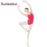 23954a5ce549 Suolasiduo Gymnastics Suit Ballet Dance Practice Clothes Female Adult  Slings Jumpsuit Body Suit Test Ballet Dance Leotards