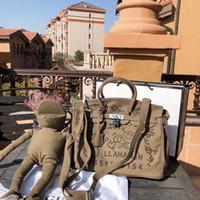 ingrosso borse di rana-TS Doodle Frog Shopping Borsa di lusso del progettista borse borse delle donne degli uomini vendita calda ad alta Quallity Crossbody Verde TSYSBB366