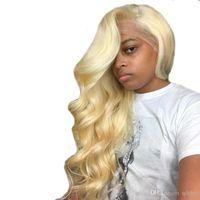 Platinum Blonde Hair Full Lace Wig Australia