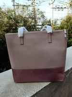 parlayan eldivenler toptan satış-Marka tasarımcısı yeni parlayan köpüklü kadın çanta omuz crossbody alışveriş torbaları kılıf glitter pu