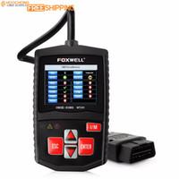 escáner obd2 eobd al por mayor-Original Foxwell OBD2 NT201 Universal EOBD CAN Escáner Lector de código de motor automotriz Herramienta de diagnóstico de escaneo OBDII OBD 2 Scane