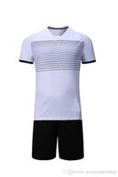 ternos brancos quentes venda por atacado-19 White Lastest Homens Football Jerseys Hot Sale Outdoor Vestuário Football Wear alta qualidade JUV Suit