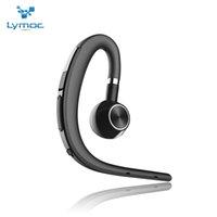 gancho de micrófono al por mayor-Lymoc Upgrade Y3 + Auricular Bluetooth Manos libres Auricular inalámbrico Gancho para la oreja V4.1 Cancelación de ruido HD Mic Música para iPhone Huawei