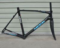 bisiklet stok karbon yolu toptan satış-Yarış bisikleti çatal Son stok parlak 700 c hafif hafif tam karbon ile yol bisikleti ön çatal