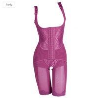 sihirli zayıflama bayan gövdesi şekillendirici toptan satış-Seksi Kadınlar Korse Shaper Magic Bodysuits Bina İç Giyim Bayan Vücut Zayıflama Shaper Zayıflama Bacaklar Drop Shipping Wear