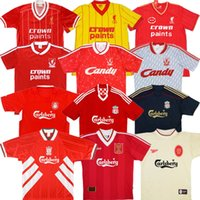 Wholesale torres soccer jerseys for sale - Group buy Retro Gerrard soccer jersey RUSH Ancient maillot TORRES Oldest shirt