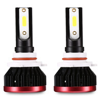 Winsun EV7 72W 9005 Car LED Headlight IP65 Waterproof 360 Degree Light EV7 72W 7200LM 9005 Mini LED Headlamp Pair