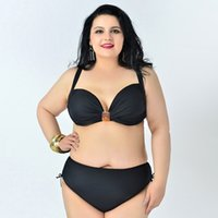große cupped bademode großhandel-Best Womens Tankinis Swimwear 82% Nylon Großformatiger Bikini Push Up BH plus E Cup 174113
