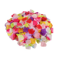 Wholesale blue purple flowers bedding for sale - Group buy wedding Imitation rose petal fake petals Birthday creative props Marriage room Wedding bed props plastic flower Photo