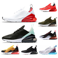 Wholesale teal green shoes resale online - 270 Designer Mens Women Running Shoes C OREO Tiger Hot Punch Triple White Black BE TRUE Teal Sports Sneaker Outdoor Size