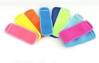 High quality Popsicle Holders Pop Ice Sleeves Freezer Edge Covering 18cmX6cm Neoprene Waterproof for Kids Summer Kitchen Tools