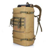 Wholesale trek backpack resale online - Multifunction L Tactical Backpack Ttravel Outdoor Sports Bag Camping Hiking Backpacks Trekking Rucksack Men Army Bag