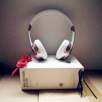 qualité des écouteurs stéréo achat en gros de-Haute Qualité SoL3 Casque Sans Fil Stéréo Bluetooth Casques Écouteurs avec Micro Écouteur 2019 Support TF Carte Pour iPhone Samsung So3 Slo3